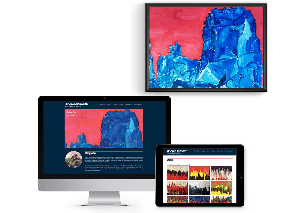 Andrea Manzitti Website